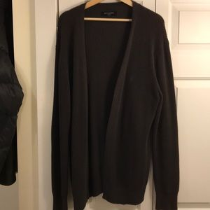 Men's All Saints grey cardigan size L
